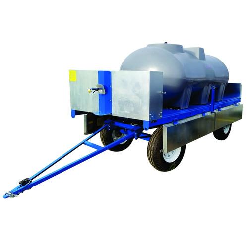 Acoplado Tanque Cisterna De Plástico 3400l Rala Para Agua