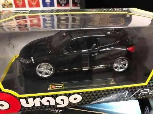 Burago - Vw Sirocco R  - Escala 1:24 - Negro