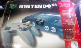 Nintendo 64 En Caja Como Nuevo Tienda Fisica Juegos Garantia