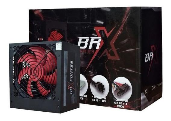 Fonte Atx Br One Br-x 650w B-s650w