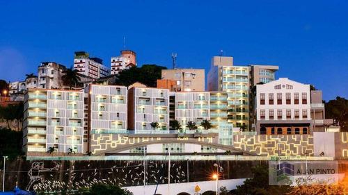 Apartamento Com 1 Quarto, Sala E Varanda À Venda, 46 M² Por R$ 340.000 - Dois De Julho - Salvador/ba - Ap0677