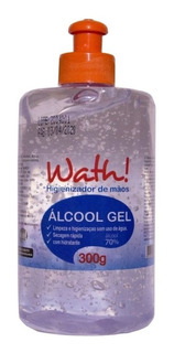Álcool Gel 70% Higienizador De Mãos 300g - Com Hidratante