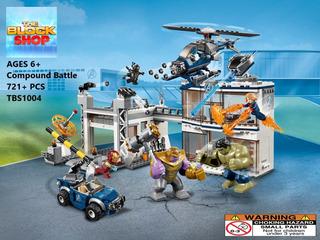 Set Avengers Endgame Batalla Final Tipo Lego / End Game