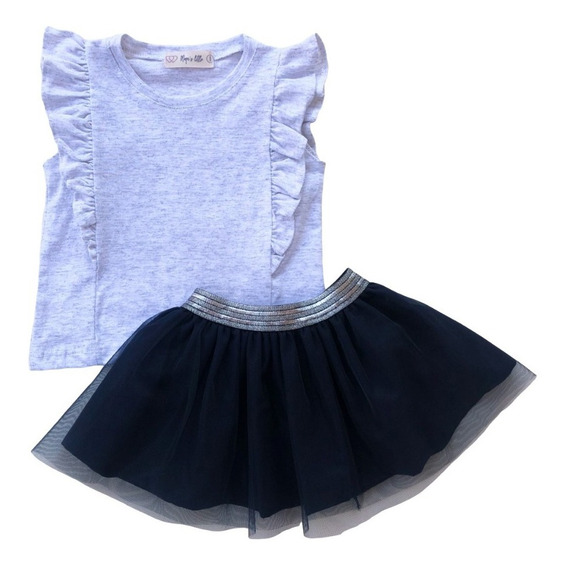 Conjunto Niña, Blusa/falda