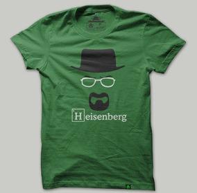 Camiseta Animegeek Breaking Bad Heisenberg Feminino Babylook