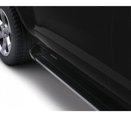 Estribos Aluminio Negro Vw Amarok Doble Cabina - Keko