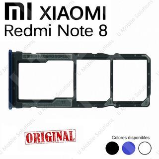 Bandeja Porta Nano Sim Y Micro Sd Xiaomi Redmi Note 8