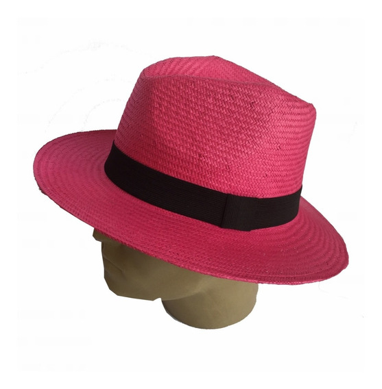 Chapéu Panamá Colorido Feminino Masculino - Ótima Qualidade