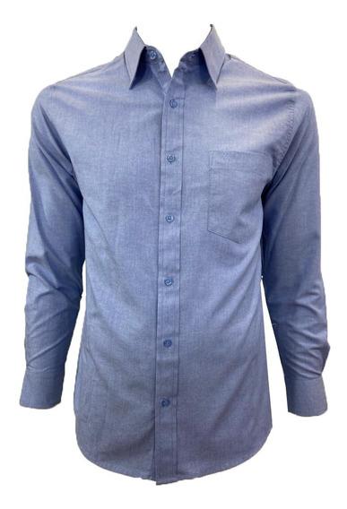 Camisa Casual Manga Larga De Hombre
