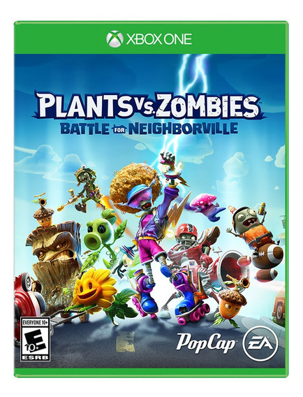 Plants Vs Zombies Battle For Neighborville Xbox One Fisico