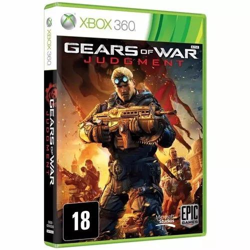 Jogo Gears Of War Judgment Xbox 360 Port. Novo Frete Grátis