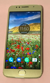 Motorola Moto G5s Xt1792 Dourado 32gb