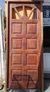 Puertas Artesanales De Algarrobo