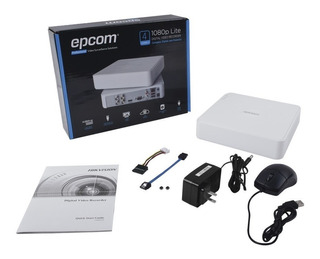 Dvr 4 Canales Epcom Turbo Hd 1080p+1 Canal Ip P2p Cctv S04t