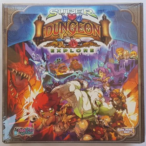 Super Dungeon Explore Juego De Mesa / Boardgame Nuevo!!! Oop