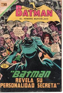 Comic Batman Novaro No. 520 Del 26 Feb 1970 C/envío Incluido