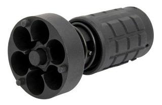 Remuniciador Rápido Para Revólver Jet Loader 6 Tiros Preto