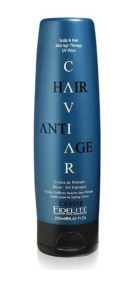 Crema De Peinado Para Rulos Caviar - Fidelite X 250gr