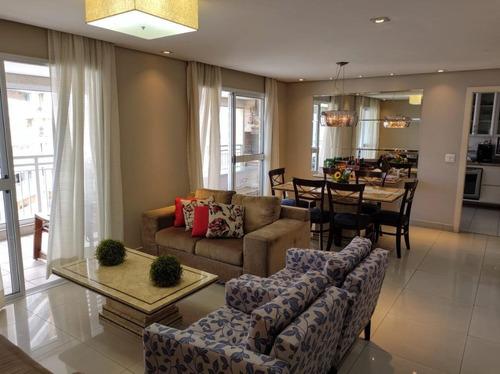 Apartamento Com 4 Dormitórios À Venda, 159 M² Por R$ 1.380.000,00 - Gonzaga - Santos/sp - Ap1766