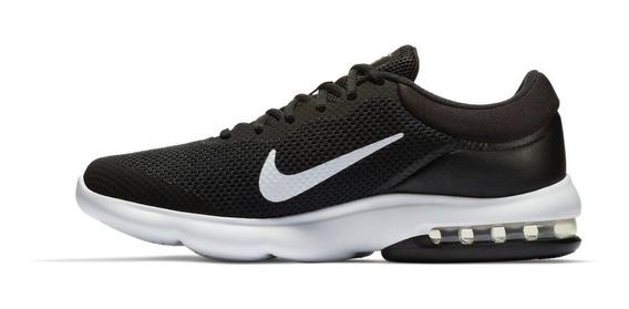 Tenis Deportivo Mujer Nike Air Max Advantage Negro- Blanco