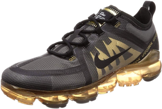 Nike Air Max Vapormax 2019 Black/black Metalic Gold.