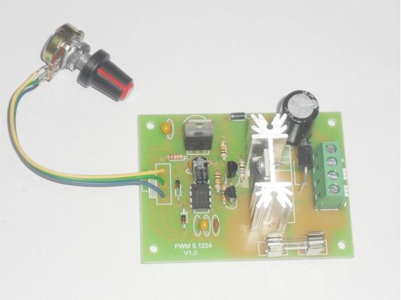 Controlador Pwm Motor Dc 12 V E 24v 8a