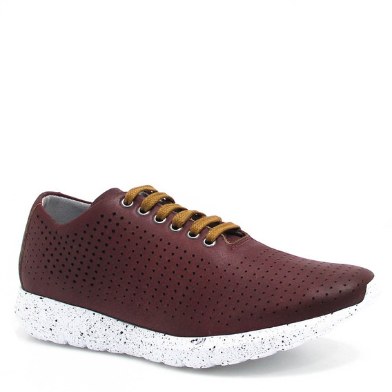 Tênis Zariff Shoes Casual Couro 41000
