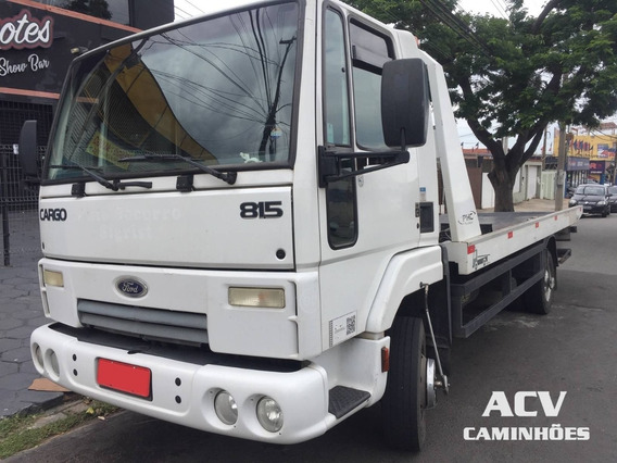 Ford Cargo 815 2012 Plataforma Guincho 5,50 Mts