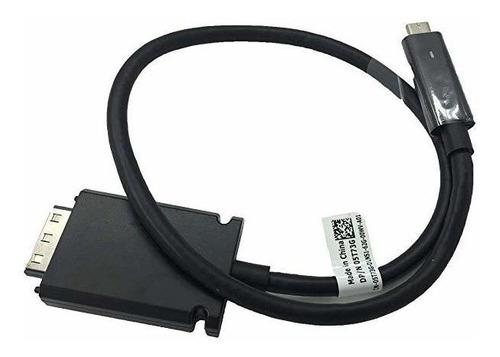 Usb-c Cable Thunderbolt Thunderbolt Para Dell Tb15 K16a Muel