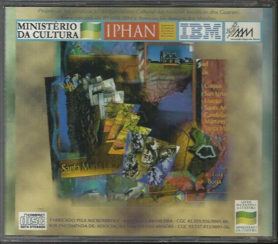 Cd Rom Missões Jesuíticas Dos Guarani (iphan)