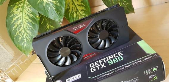 Gtx 980 Classified Evga 4gb - Está É A Melhor D Todas As 980
