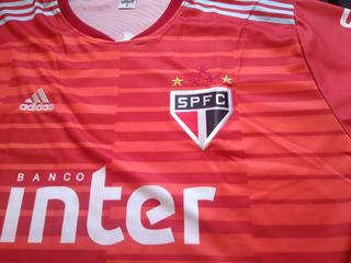 Camisa Nova Volpi Sao Paulo Torcedor Tricolor