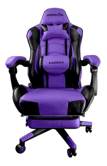 Cadeira Gamer Raidmax Drakon Roxo/preto Dk-709pu