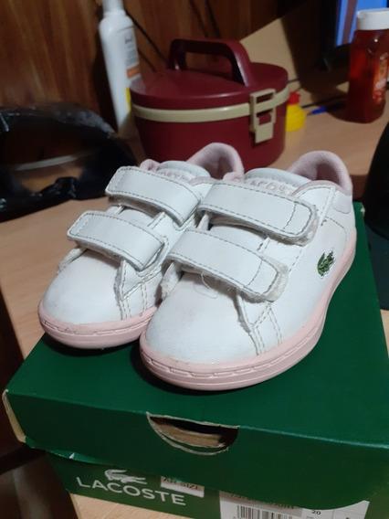 Zapatillas Lacoste Originales De Nena