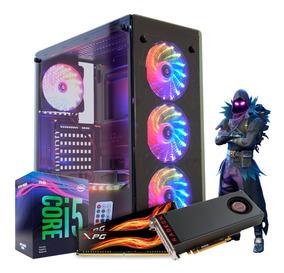 Pc Gamer Intel I5 9400f H310m Rx570 4gb 8gb Ram Hd1tb - Rgb