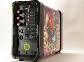 Parlante Bluetooth 75w! Karaoke Micrófono