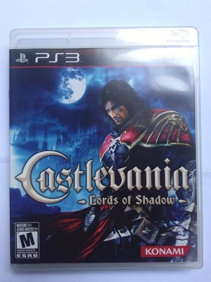 Jogo Castlevania Lords Of Shadows Midia Fisica Ps3 R$69,9