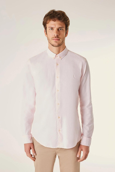 Camisa Ml Pf Oxford Color Reserva
