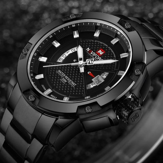 Relógio Esportes Militar Naviforce Nf9085 Original Promoção