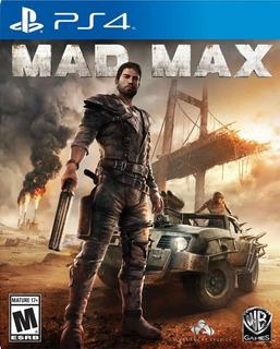 Mad Max Ps4 Digital Gcp
