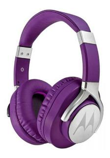 Fone De Ouvido Headphone Motorola Pulse Max Roxo