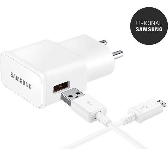 Carregador De Celular Ep-ta20 Micro Usb Branco 2a - Samsung