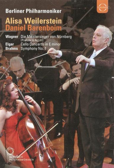 Dvd Wagner/ Elgar/ Brahms - Berliner Philharmoniker - Novo*