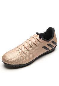 Chuteira Masculina adidas Messi 16 3 Tf - Cobre