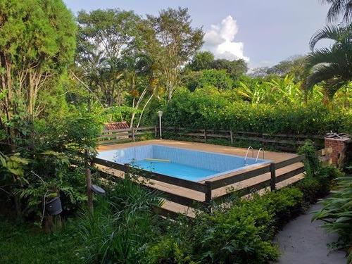 Chácara Com 3 Dormitórios À Venda, 2000 M² Por R$ 1.075.000,00 - Centro - São Carlos/sp - Ch0003