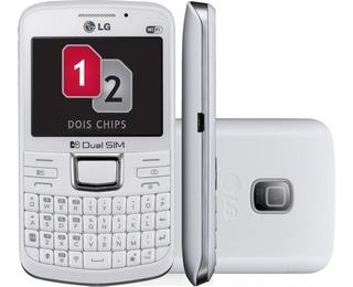 Celular Lg C199 - Dual Chip / 2mp / Wi-fi / 2gb - Novo