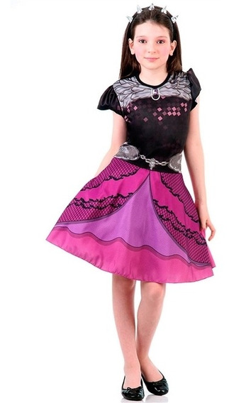 Fantasia Raven Queen Infantil Ever After High Std Original