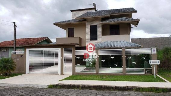 Aceita Troca Por Apto De Menor Valor 190 M² Por R$ 480.000 - Vila São José - Criciúma/sc - Ca1750