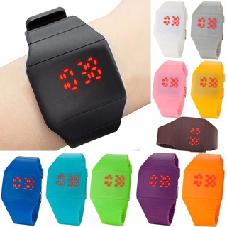 Reloj Led Unisex Ultra Slim Touch Deportivo