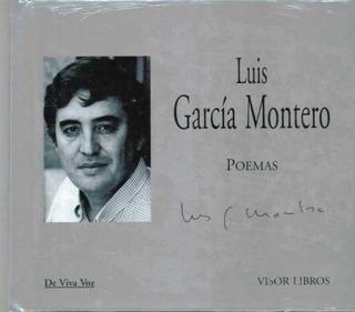 Poemas (con Cd), Luis García Montero, Visor